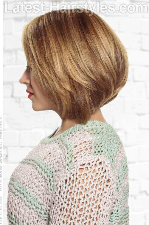 Layered Short Bob Side
