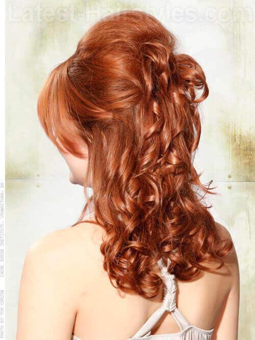 Natural Red Haircolor Back