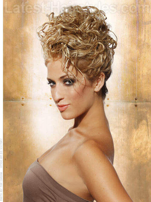 Marvelous Show Off Your Beautiful Curls With These Curly Hair Updos Short Hairstyles For Black Women Fulllsitofus