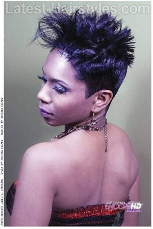Cool 6 Short Funky Hairstyles For Black Women Of All Ages Short Hairstyles Gunalazisus