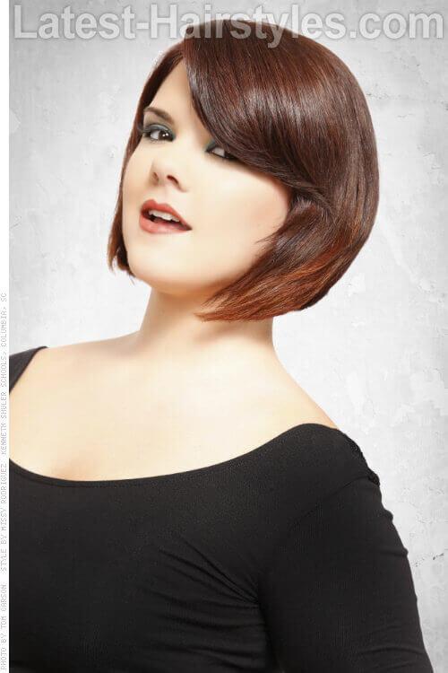 Soft Effect Short Ombre Haircolor
