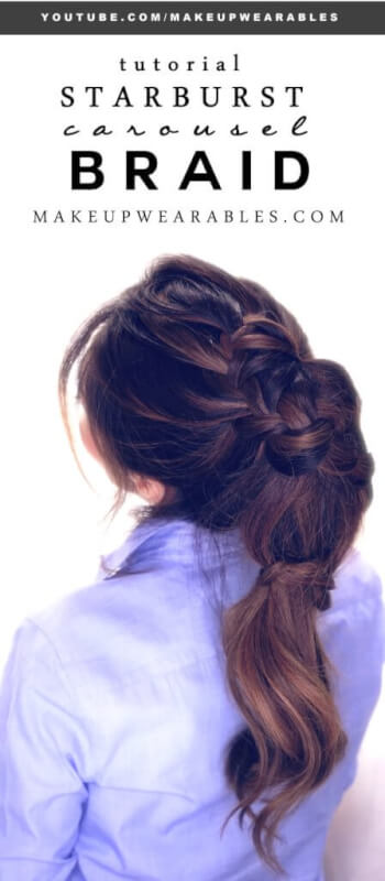 Starburst Carousel Voluminous Hairstyle