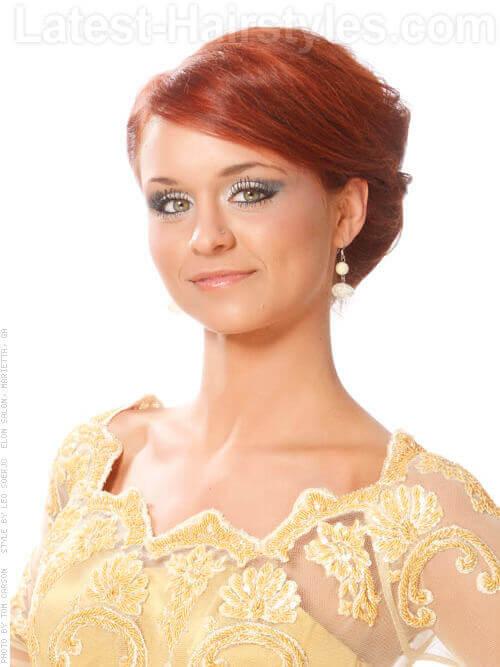 Warm Red Hair Shades