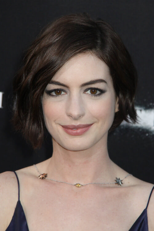 Anne Hathaway Chic Haircut