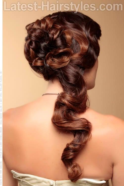 Caramel Ombre Haircolor Back