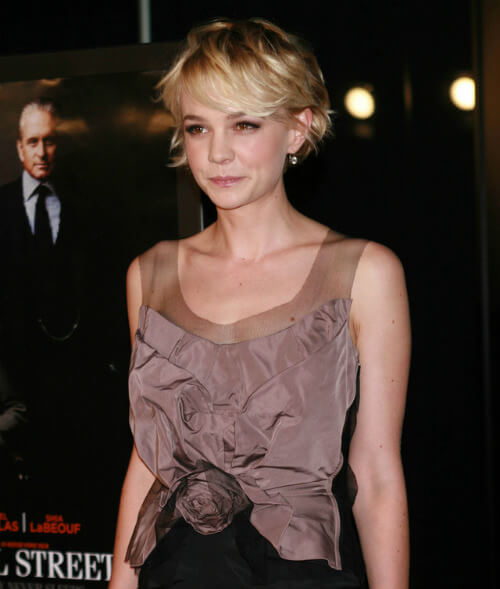 Carey Mulligan Short Cut Side