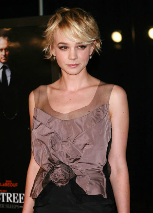 Carey Mulligan Short Cut