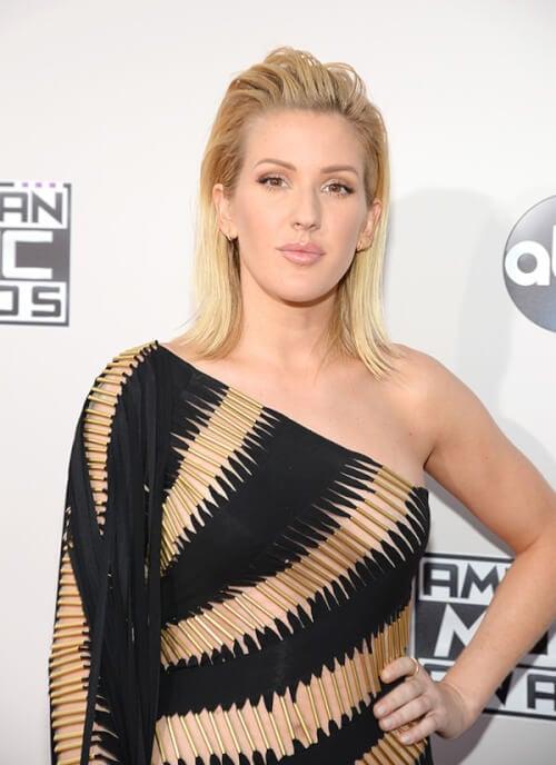 Ellie Goulding - The Best American Music Awards Hairstyles