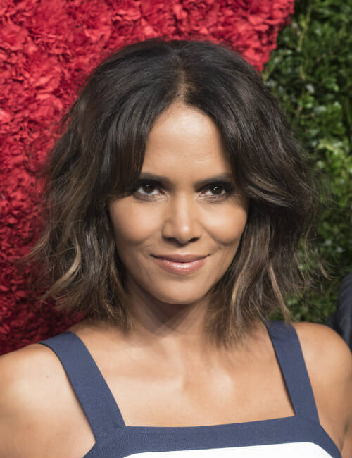 Halle Berry Short Feminine Haircut