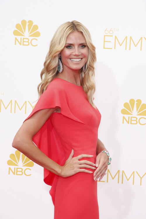 Heidi Klum Medium Long Haircut