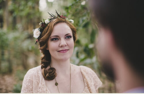 Side Braid Wedding Hairstyle