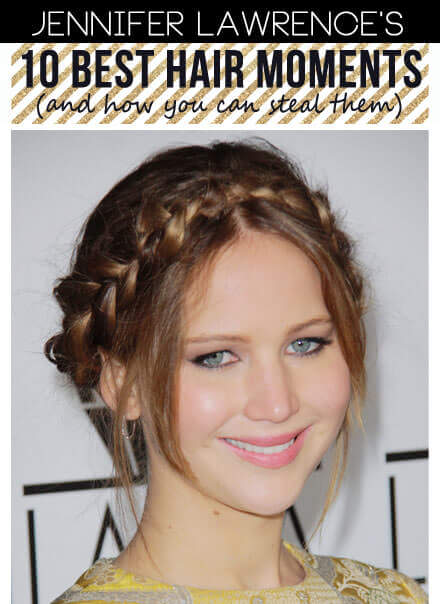 The Best Jennifer Lawrence Hairstyles