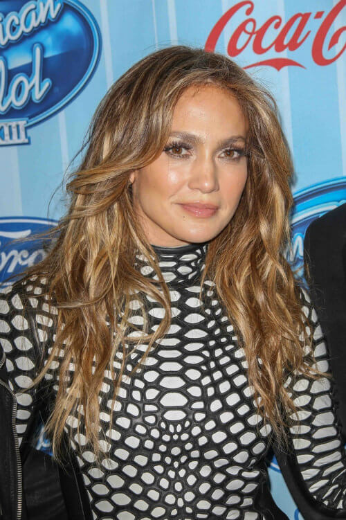 Jennifer Lopez Haircut Front