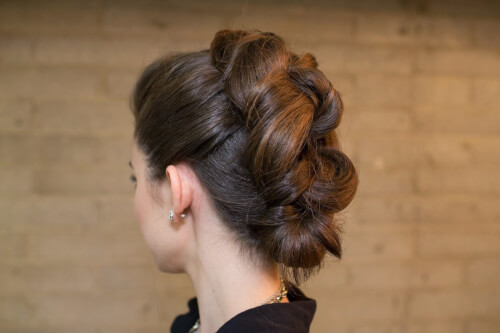 Faux Hairstyles - The Knotted Faux Hawk
