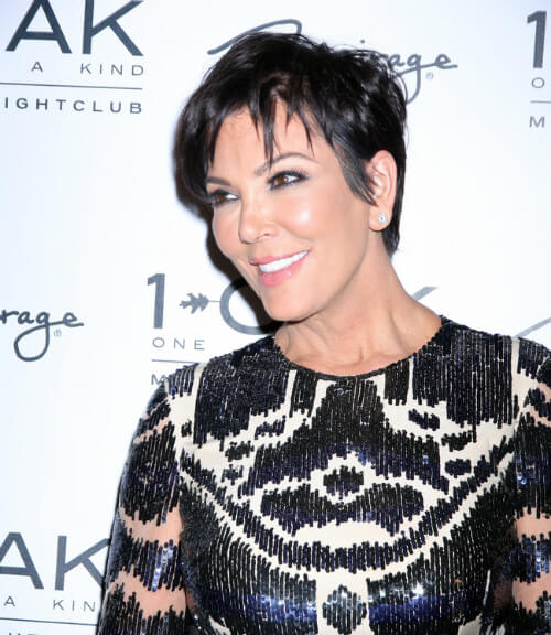 Kris Jenner Short Haircut Side
