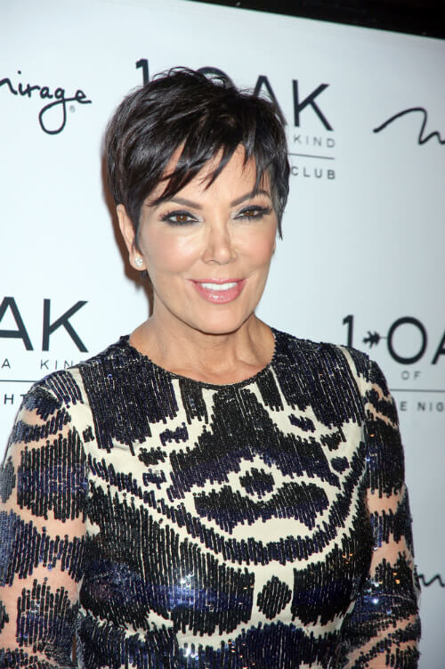 Kris Jenner Short Haircut