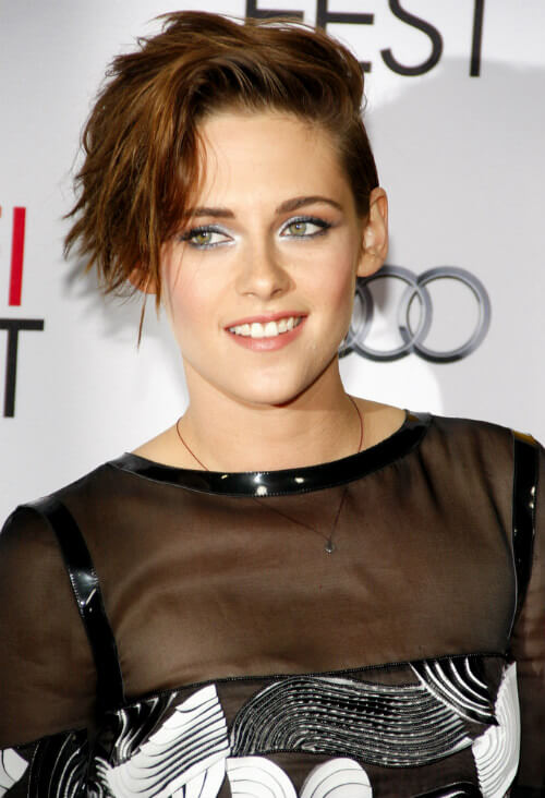 Kristen Stewart Short Haircut