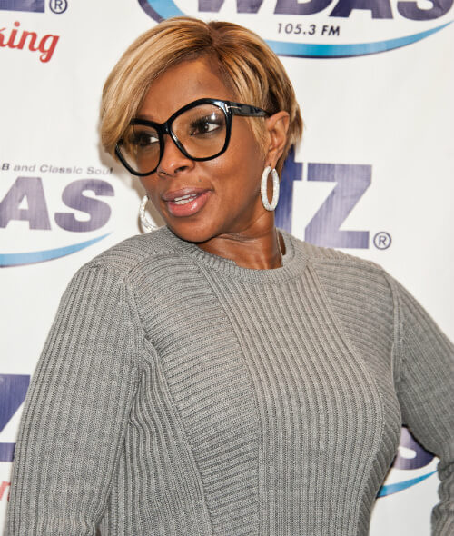 Mary J Blige Cute Crop Side
