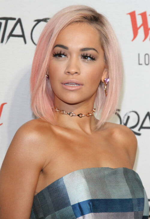 Rita Ora Bob with Color