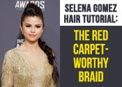 Selena Gomez Hair Tutorial - The Red Carpet Braid