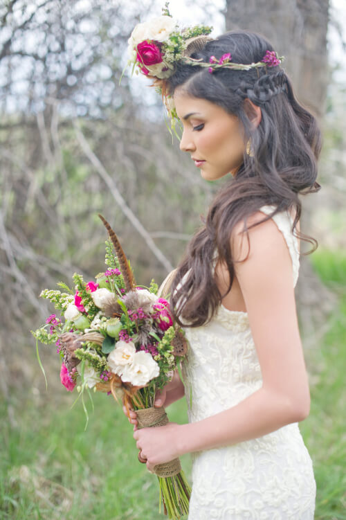 Winter Wedding Hairstyles