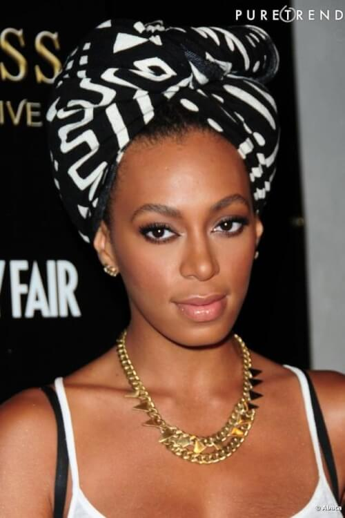 Solange Knowles Turban Headband
