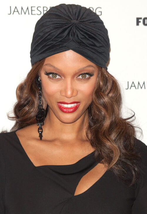 Tyra Banks Turban Headband