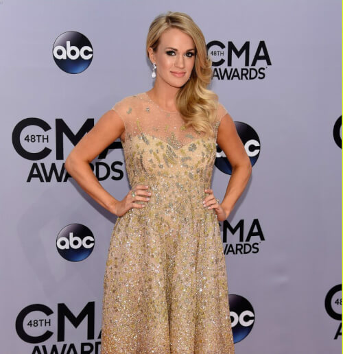 Carrie Underwood - 2014 CMA Awards Hairstyles