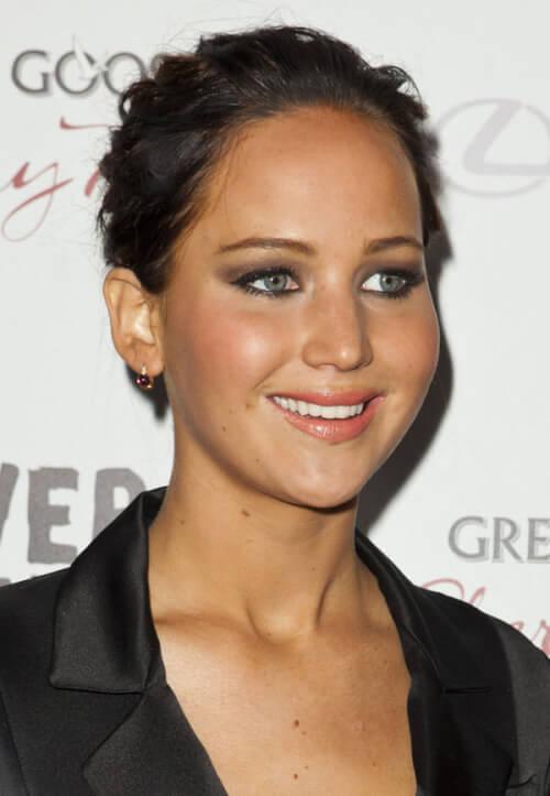 Jennifer Lawrence Dark Hair Color