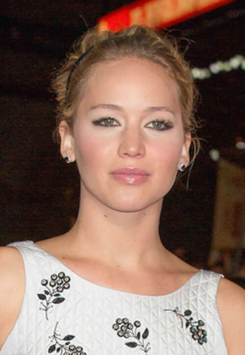 Jennifer Lawrence Headband Hairstyle