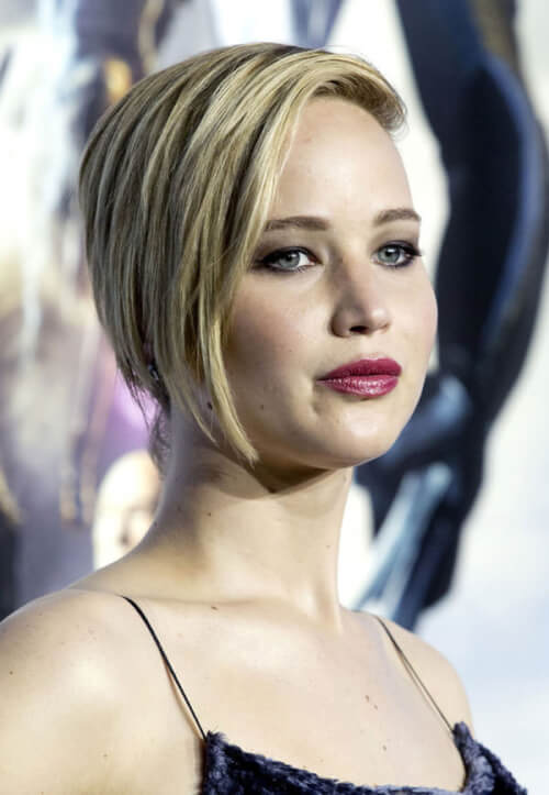 Jennifer Lawrence Short Hairsrtyle