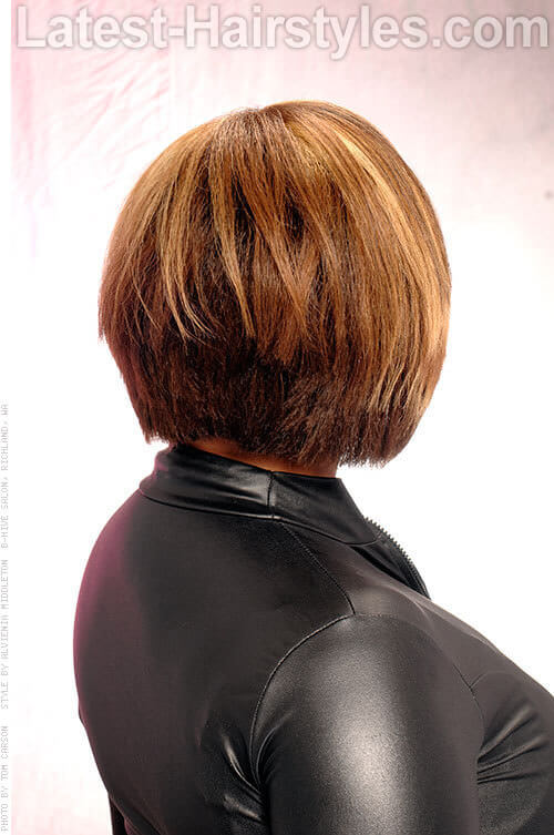 Classic Layered Bob Cut For Women