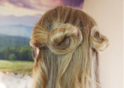 The Double Rosette Hairstyle Tutorial