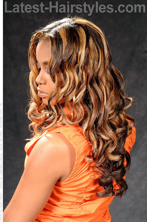 Loose & Light Spiral Curls