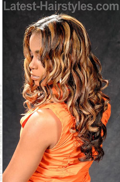 Loose & Light Spiral Curls