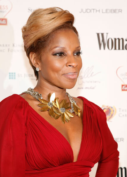 Mary J. Blige Blonde Bombshell 2