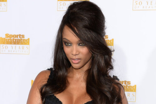Retro Bouffant Tyra Banks Hairstyle
