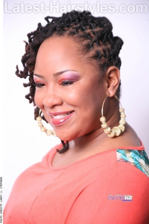 Marvelous Sculpted Locs Short Hairstyles Gunalazisus