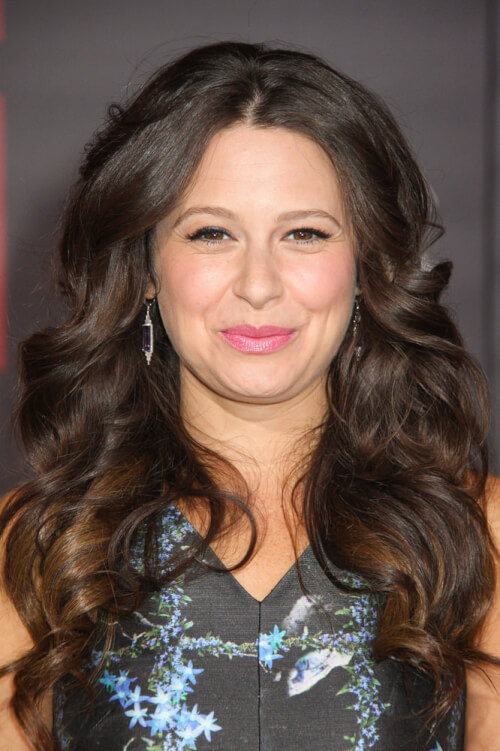 Katie Lowes Bombshell Curls