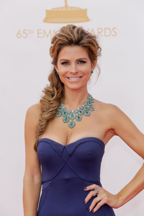 Maria Menounos Fishtail Braid - Holiday Hairstyles