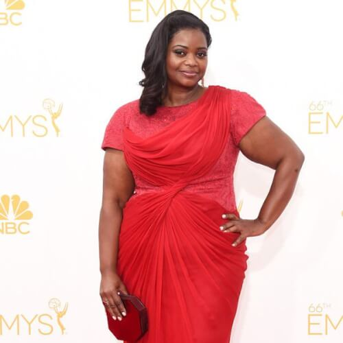 Octavia Spencer Side Swept Waves
