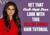 Selena Gomez Hair Tutorial