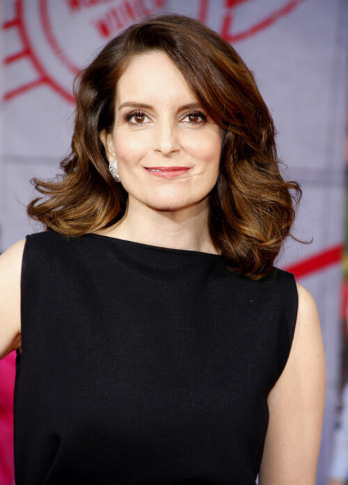 Tina Fey Bouncy Blowout
