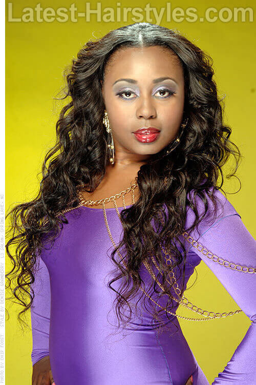 Deidra's Deep Wave Long Hair Extensions 1