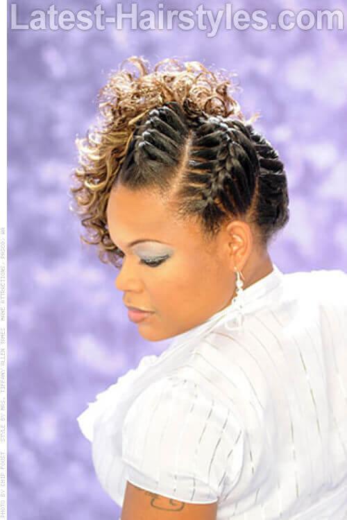 Fierce Braids Fancy Hairstyles 2