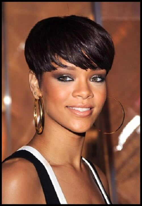 15 short weaves that are totally in style right now rihannas world pmusecretfo Gallery
