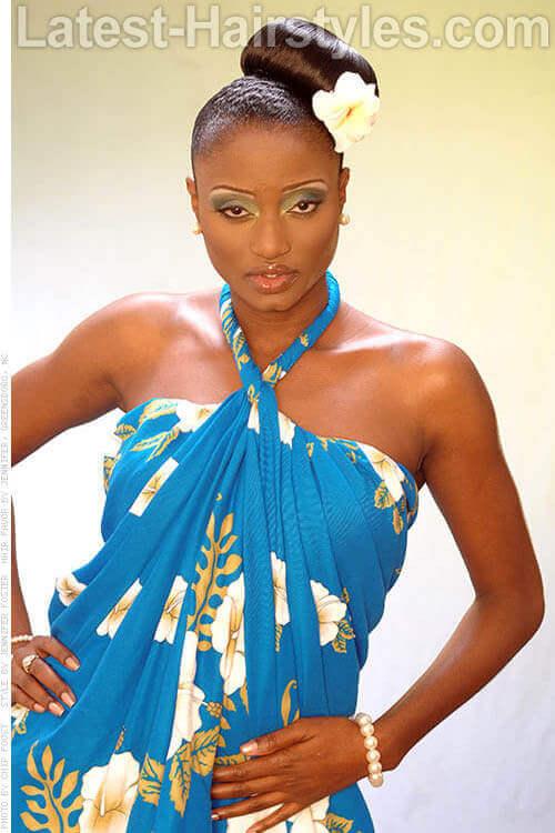 Side Bun Diva Fancy Hairstyles 2