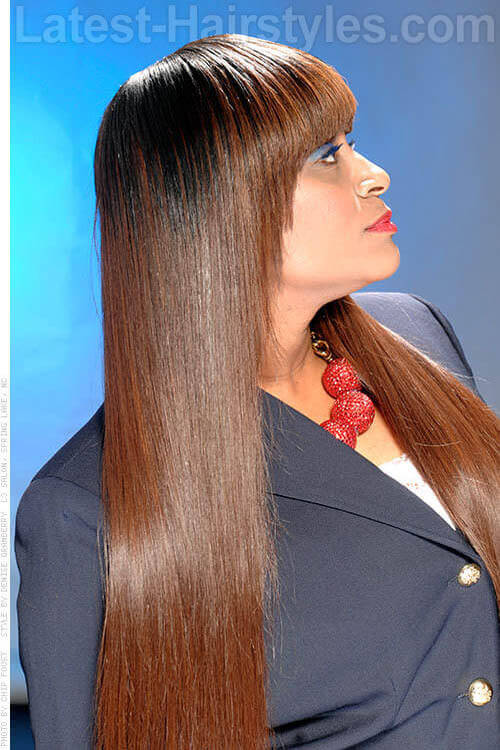 Silky Smooth Long Hair Extensions 2