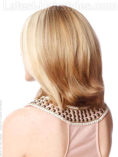 Asymmetric Long Bob Back