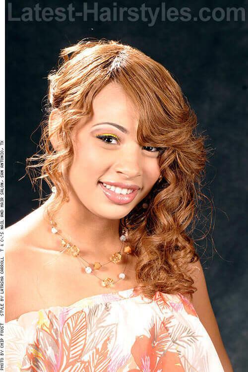 Multi Curls Side Swept 1